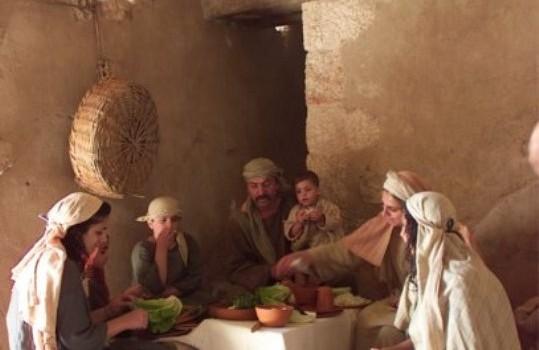 Nazareth family meal